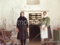 434-Fititis' w and her m preparing threades for loom (Αντιγραφή)